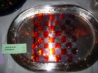 jell-o checker board
