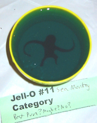 monkey in jell-O