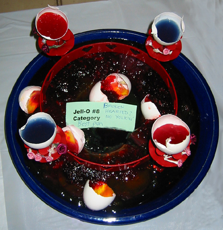 egg shells jell-o